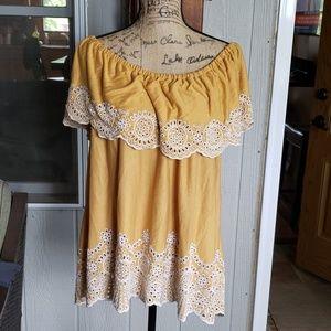 Womens off shoulder blouse